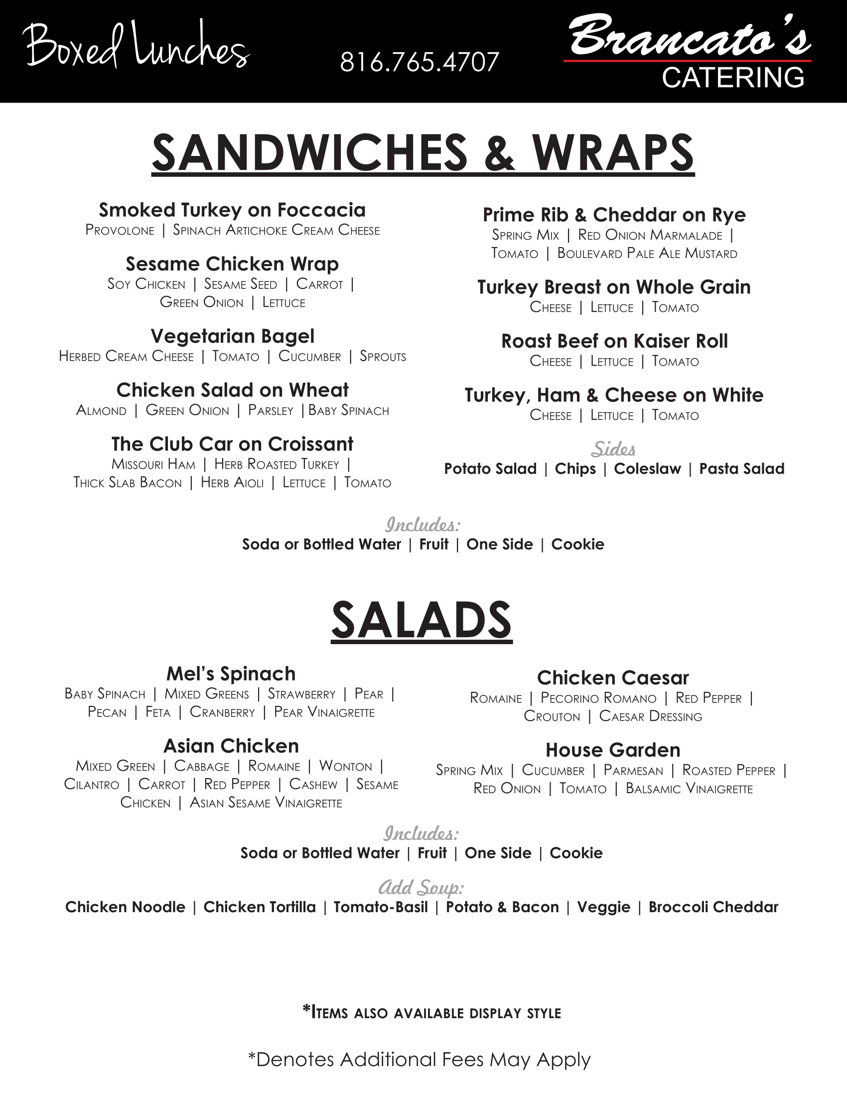 Sandwiches and Wraps-1