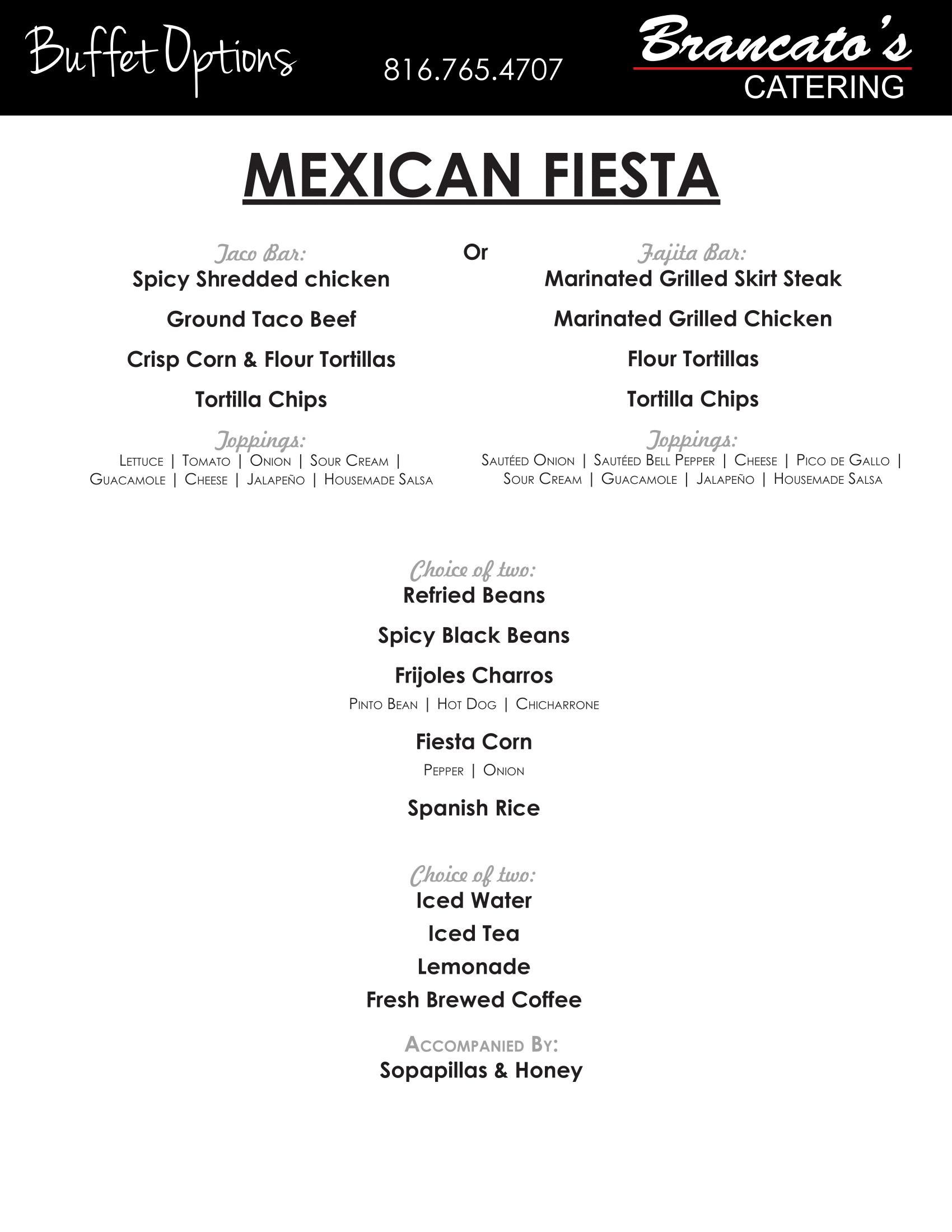 mexican fiesta catering kansas city kansas city